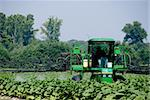 A large commercial crop spraying farm tractor. Stock Photo - Royalty-Free, Artist: robeo                         , Code: 400-04624658