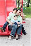 Family on Slide Stock Photo - Premium Royalty-Free, Artist: Kevin Dodge, Code: 600-04625283
