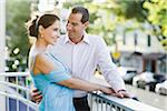 Couple on Balcony Stock Photo - Premium Royalty-Free, Artist: Kevin Dodge, Code: 600-04625297