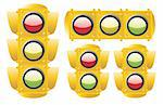 Traffic light Stock Photo - Royalty-Free, Artist: zabiamedve                    , Code: 400-04625888