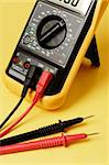 Digital multimeter with probes Stock Photo - Royalty-Free, Artist: stocksnapper                  , Code: 400-04626343