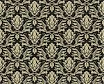 Damask seamless vector background.  For easy making seamless pattern just drag all group into swatches bar, and use it for filling any contours. Stock Photo - Royalty-Free, Artist: angelp                        , Code: 400-04636314