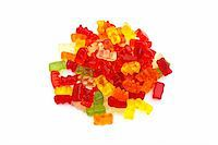 Gummi bears Stock Photo - Royalty-Freenull, Code: 400-04643880
