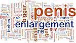 Word cloud concept illustration of  penis enlargement Stock Photo - Royalty-Free, Artist: kgtoh                         , Code: 400-04644187