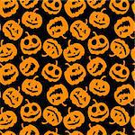 Halloween holiday, seamless background Stock Photo - Royalty-Free, Artist: Kudryashka                    , Code: 400-04644440