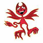 illustration of little devil Stock Photo - Royalty-Free, Artist: Zuzuan                        , Code: 400-04646355