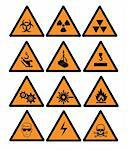 Hazard  and safety vector signs Stock Photo - Royalty-Free, Artist: hakakatb                      , Code: 400-04646999