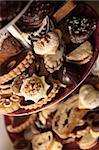 xmas homemade cookies from the czech republic Stock Photo - Royalty-Free, Artist: jonnysek                      , Code: 400-04650773