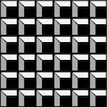 Building foundation vector pattern background. Black. Stock Photo - Royalty-Free, Artist: furtaev                       , Code: 400-04656245