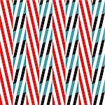 Trendy modern vector pattern with stylish colors. Stock Photo - Royalty-Free, Artist: furtaev                       , Code: 400-04656255