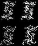 Abstract Black and White Background Original Vector Illustration Black and White Design Pattern Ideal for Abstract Background Stock Photo - Royalty-Free, Artist: iconspro                      , Code: 400-04670730