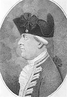 Alan Gardner, 1st Baron Gardner (1742-1809) on engraving from the 1800s. British Royal Navy officer and peer of the realm. Engraved by Pierson and published by J.Sewell. Stock Photo - Royalty-Freenull, Code: 400-04677544