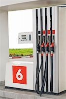 rural gas station - Petrol station pumps at the rural area Stock Photo - Royalty-Freenull, Code: 400-04679694
