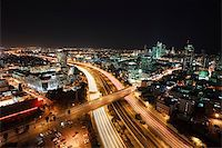 slidezero - The night Tel Aviv city - View of Tel Aviv at night. Stock Photo - Royalty-Freenull, Code: 400-04680244