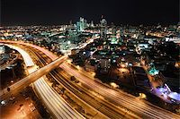 slidezero - The night Tel Aviv city - View of Tel Aviv at night. Stock Photo - Royalty-Freenull, Code: 400-04680246