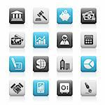 Professional icons for your website or presentation. -eps8 file format- Stock Photo - Royalty-Free, Artist: Palsur                        , Code: 400-04680271