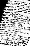 Close up of Dictionary text Stock Photo - Royalty-Free, Artist: janaka                        , Code: 400-04690934