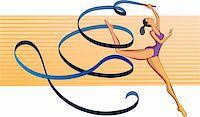 feet gymnast - gymnast Stock Photo - Royalty-Freenull, Code: 400-04694458