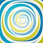 abstract background with abstract spiral, vector illustration Stock Photo - Royalty-Free, Artist: alvaroc                       , Code: 400-04701505