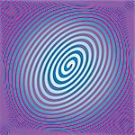 Spiral background colorful vector illustration Stock Photo - Royalty-Free, Artist: alvaroc                       , Code: 400-04704580