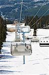 Chair lifts for the ski runs at Whistler Peak in British Columbia, Canada vertical Stock Photo - Royalty-Free, Artist: sgoodwin4813                  , Code: 400-04706350