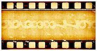 Grunge film frame ,2D digital art Stock Photo - Royalty-Freenull, Code: 400-04708615