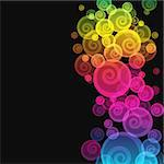 Abstract colorful background. Illustration for your design.