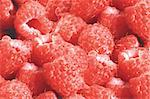 Fresh raspberries Stock Photo - Royalty-Free, Artist: tetkoren                      , Code: 400-04716481