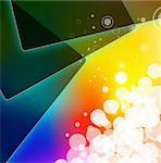 Abstract Colrful Business Background for Brochure or Flyers