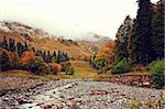 mountain autumn landscape photo