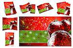Traditional Christmas background, illustration of Christmas Card Stock Photo - Royalty-Free, Artist: pakmor2011                    , Code: 400-04723735