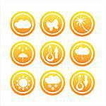 set of 9 nature signs Stock Photo - Royalty-Free, Artist: LxIsabelle                    , Code: 400-04724641