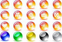 website and internet icons Stock Photo - Royalty-Freenull, Code: 400-04728428