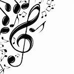 Eps Music theme Illustration for your design.