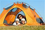 Camping in a Rocky Mountains Stock Photo - Royalty-Free, Artist: Studio1One                    , Code: 400-04728966