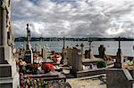 cemetery in Brittany, at the seaside Stock Photo - Royalty-Free, Artist: allg                          , Code: 400-04732610