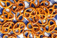 photo shot of baked pretzels Stock Photo - Royalty-Freenull, Code: 400-04733942