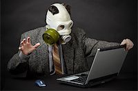 Humanity is on the brink of ecological disaster Stock Photo - Royalty-Freenull, Code: 400-04733992