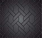 Chainlink fence isolated against a metal background. Vector illustration Stock Photo - Royalty-Free, Artist: emaria                        , Code: 400-04734028