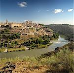 panoramic view of Toledo in Spain Stock Photo - Royalty-Free, Artist: auris                         , Code: 400-04740949
