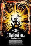 Suggestive Halloween Grunge Style Flyer or Poster Background Stock Photo - Royalty-Free, Artist: DavidArts                     , Code: 400-04748948
