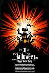 Suggestive Halloween Grunge Style Flyer or Poster Background Stock Photo - Royalty-Free, Artist: DavidArts                     , Code: 400-04748949