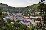 Wonderful view of the old mining town Stock Photo - Royalty-Free, Artist: hraska                        , Code: 400-04750211