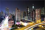 Hong Kong at night Stock Photo - Royalty-Free, Artist: leungchopan                   , Code: 400-04756255