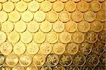 coins background, of Hong Kong currency $0.5 coins Stock Photo - Royalty-Free, Artist: leungchopan                   , Code: 400-04756262