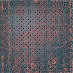 Texture of rusty metal mesh Stock Photo - Royalty-Free, Artist: Lem                           , Code: 400-04762103