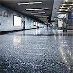 scene of the subway station, hall of the modern building. Stock Photo - Royalty-Free, Artist: csguy                         , Code: 400-04763359