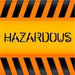 illustration of hazardous icon Stock Photo - Royalty-Free, Artist: get4net                       , Code: 400-04773036