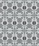 seamless flower pattern Stock Photo - Royalty-Free, Artist: notkoo2008                    , Code: 400-04786961