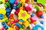 Close up of various colourful bracelets Stock Photo - Royalty-Free, Artist: ElnurCrestock                 , Code: 400-04792781